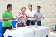 Inauguración de proyecto en Col. Divina Providencia